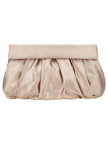 Dixie satin clutch bag