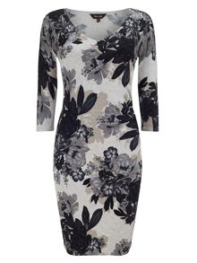 Horley rose print dress