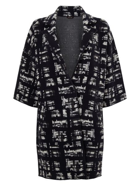 Phase Eight Jasleen jacquard knit coat