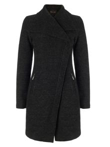 Zen Zip Asymmetric Coat