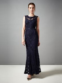Leona tapework full length dress
