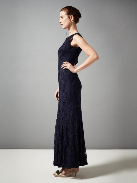 Phase Eight Leona tapework full length dress