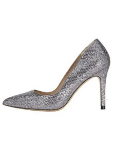 Lucie glitter point heeled shoes