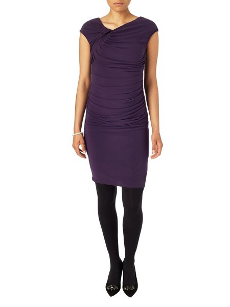 Phase Eight Una ruched dress