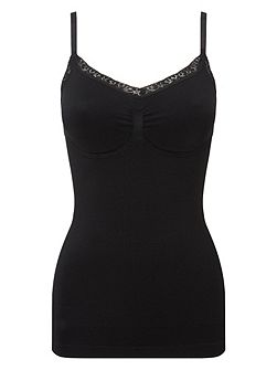 Silhouette seamless camisole