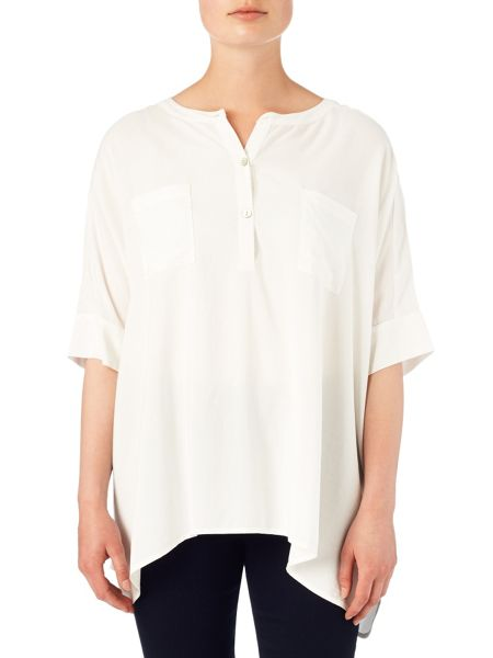Phase Eight Jan oversized shirt