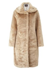 Phase Eight Ceri fur jacket