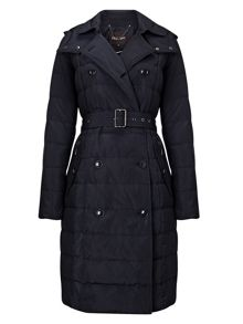 Phase Eight Emmalee double trench puffer coat