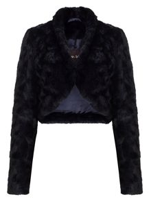 Phase Eight Katya fur jacket
