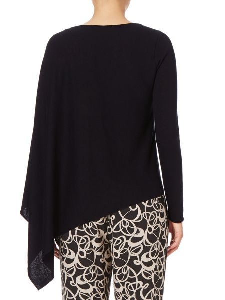 Phase Eight Ashton asymmetric knit top