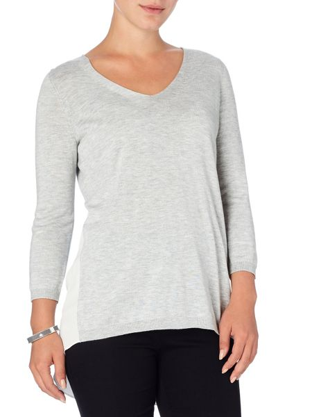 Phase Eight Piper pleat back knit top
