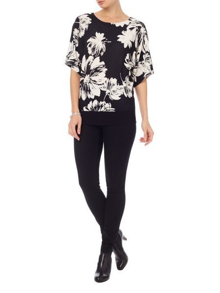 Phase Eight Kalin Kimono Print Knit Top