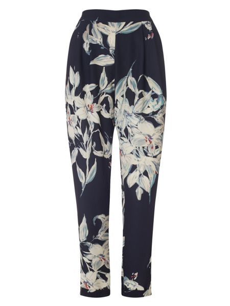 Phase Eight Lily print soft trouser