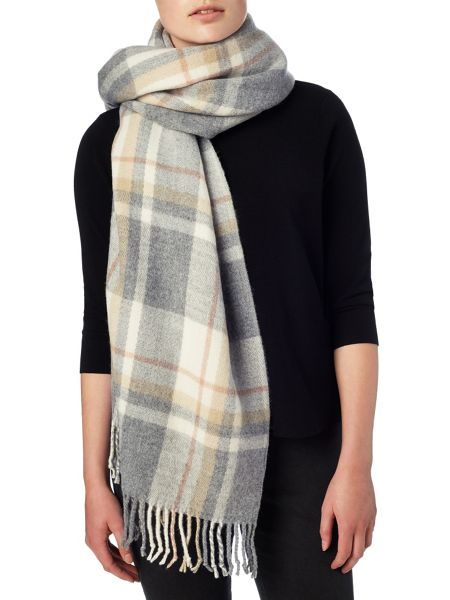 Phase Eight Gigi tartan scarf