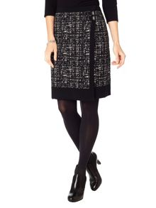 Joselyn wrap knit skirt