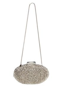 Phase Eight Olivia beaded clutch bag