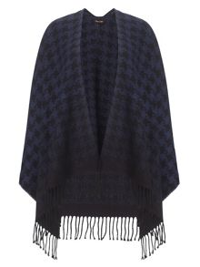 Phase Eight Lexie dogtooth cape