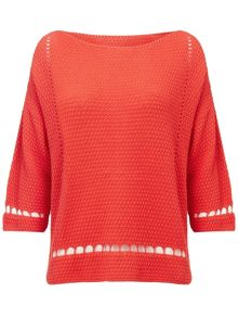 Millie stitch knit top
