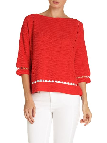 Phase Eight Millie stitch knit top