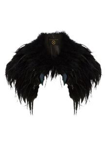 Phase Eight Alana feather cape