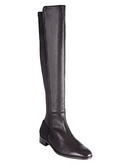 Amber stretch long boots