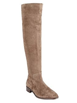 Melody suede long boots