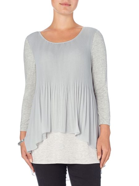 Phase Eight Betsy pleat split back blouse