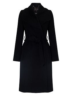 Nicci fit and flare coat