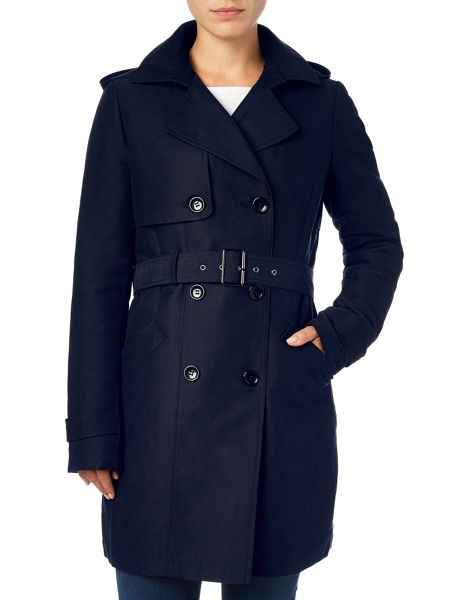 Phase Eight Alanna hooded trench coat