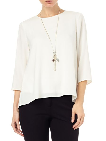Phase Eight Meredith split back blouse