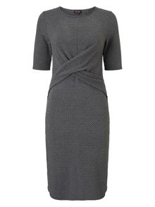 Phase Eight Latticia textured dress