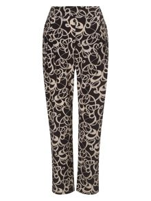 Phase Eight Bridgette soft print trousers