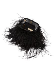Phase Eight Bessie feather bag