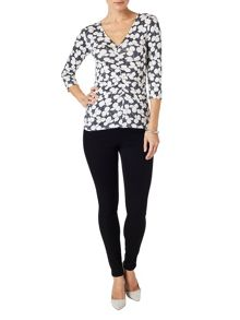 Adita ruched top