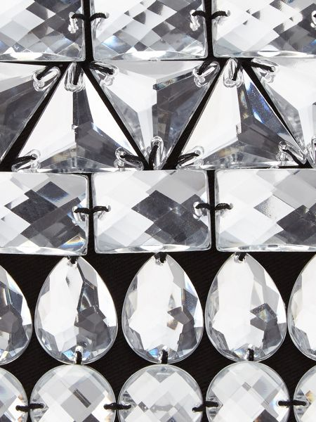 Phase Eight Erica crystal pouch