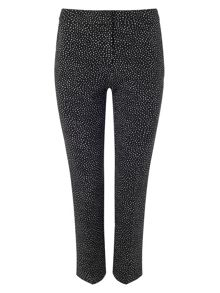 Phase Eight Alexa spot jacquard trousers