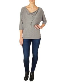 Branna twist knit top