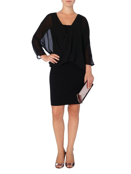 Phase Eight Gail woven knit dress