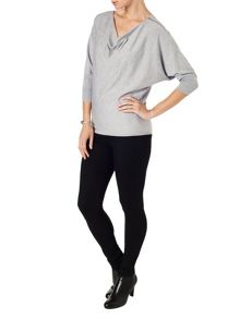 Phase Eight Bevan batwing cowl jumper
