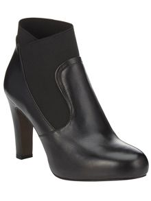 Phase Eight Carlotta heeled stretch ankle boots