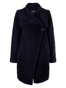 Phase Eight Karan raschel knit coat