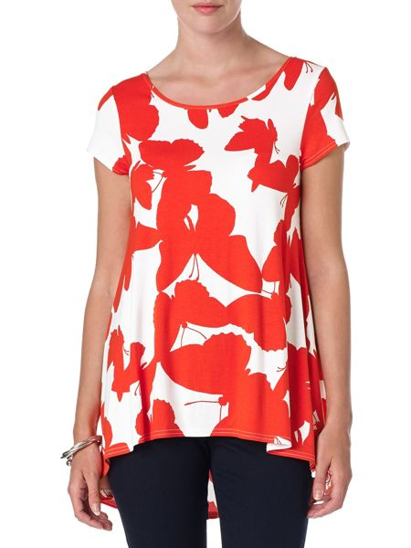 Phase Eight Belle butterfly top