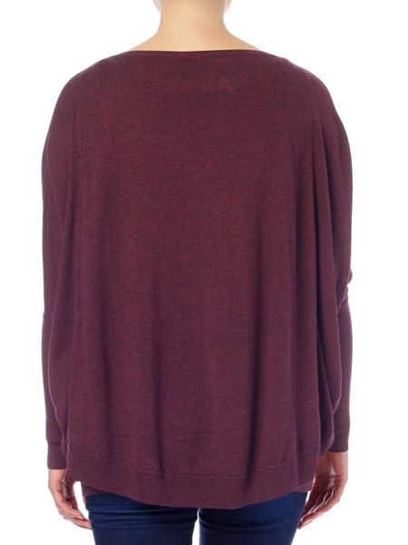 Phase Eight Charley crop double layer jumper