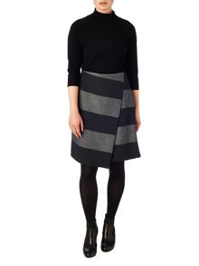 Phase Eight Jennie stripe skirt