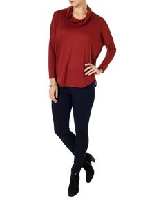 Phase Eight Nora scoop hem top