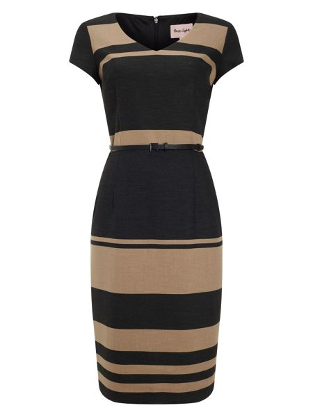 Phase Eight Lucy stripe dress