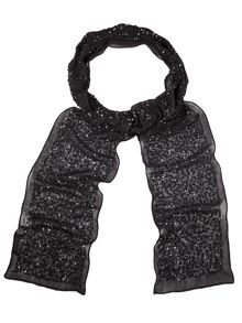 Holly skinny sequin scarf