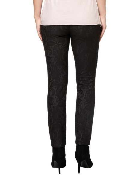 Phase Eight Bonded lace ponte jeggings