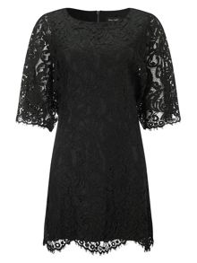 Phase Eight Kimono lace dress
