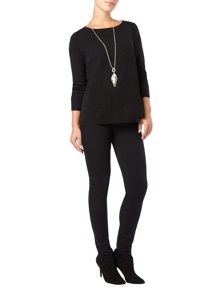 Phase Eight Alma wrap front jumper